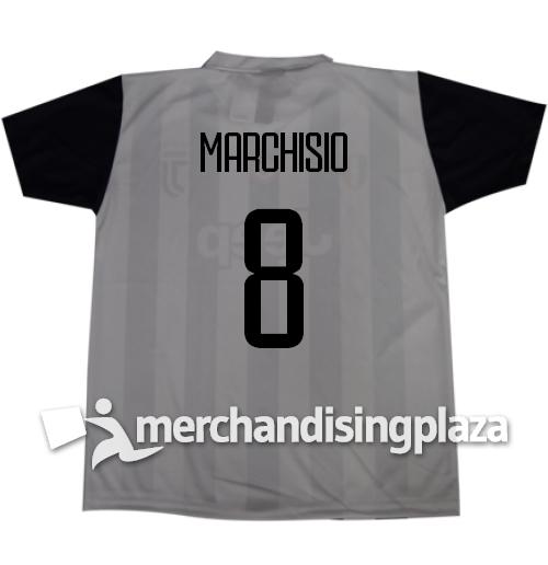 Image of Prima maglia Juventus ufficiale Marchisio 8 replica stagione 2017-18