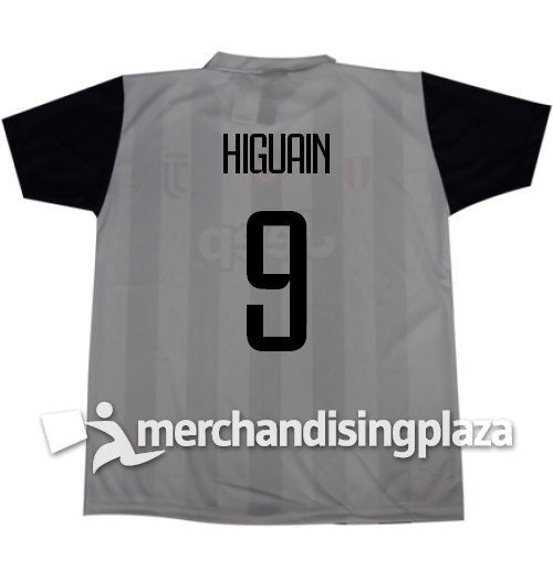 Image of Prima maglia Juventus ufficiale Higuaín 9 replica stagione 2017-18