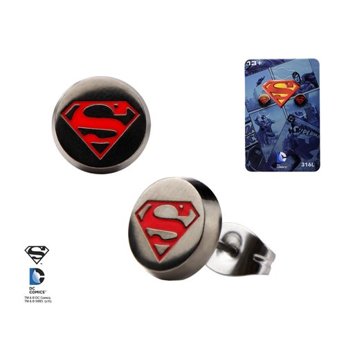 Image of Superman Superman Logo Stud-Set