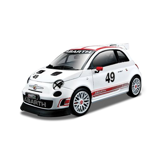 Image of Bburago - Abarth 500 Assetto Corse 1:24