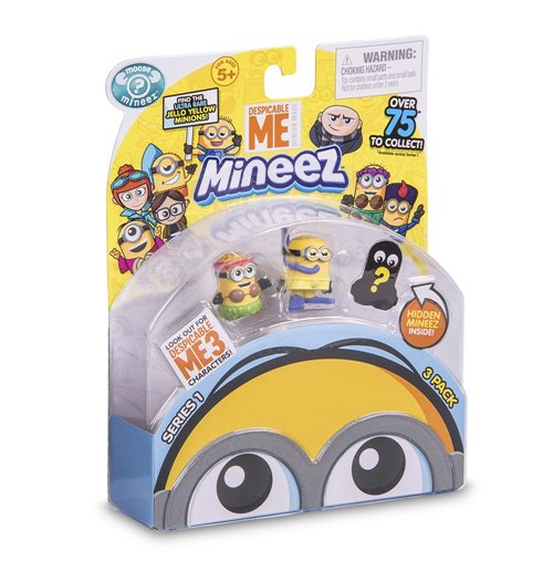 Image of Cattivissimo Me 3 - Mineez - Blister 3 Mini Personaggi
