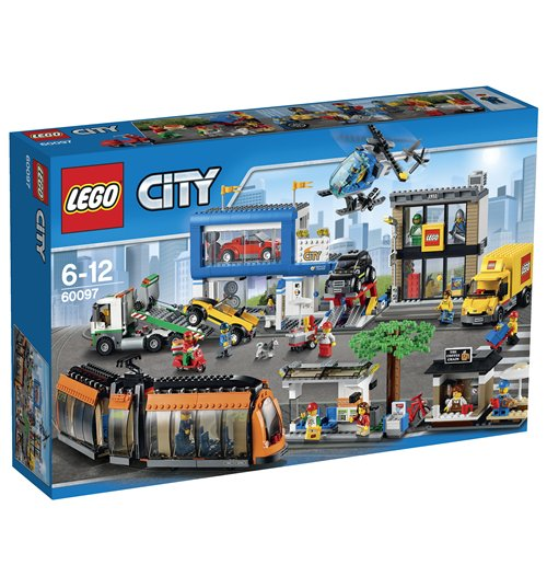 Image of Lego 60097 - City - Piazza Della Citta'