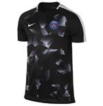 t-shirt-paris-saint-germain-2017-2018-schwarz-