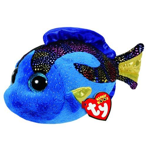 Image of Ty - Beanie Boo - Peluche 15 Cm - Aqua