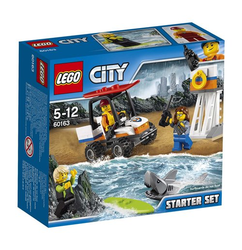 Image of Lego 60163 - City - Starter Set Guardia Costiera