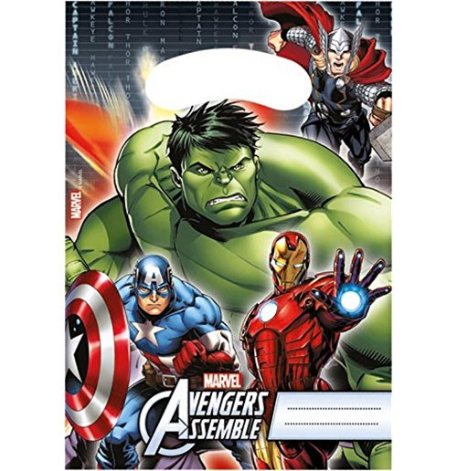 Image of Avengers - Power - 6 Sacchettini