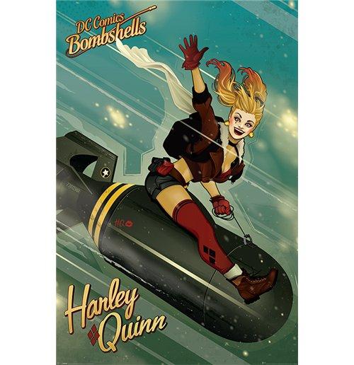 Image of Dc Comics Bombshells - Harley Quinn Bomb (Poster Maxi 61X91,5 Cm)