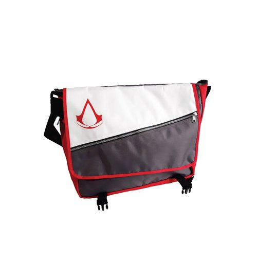 Image of Assassin'S Creed - Core Crest Logo Grey (Borsa Tracolla)