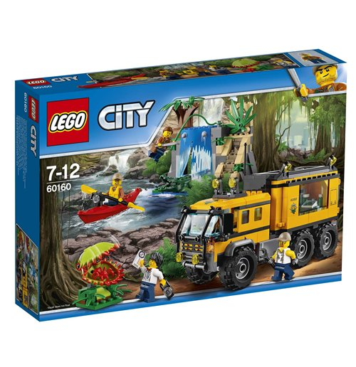 Image of Lego 60160 - City - Laboratorio Mobile Nella Giungla