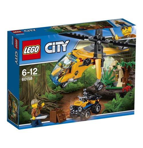 Image of Lego 60158 - City - Elicottero Da Carico Della Giungla