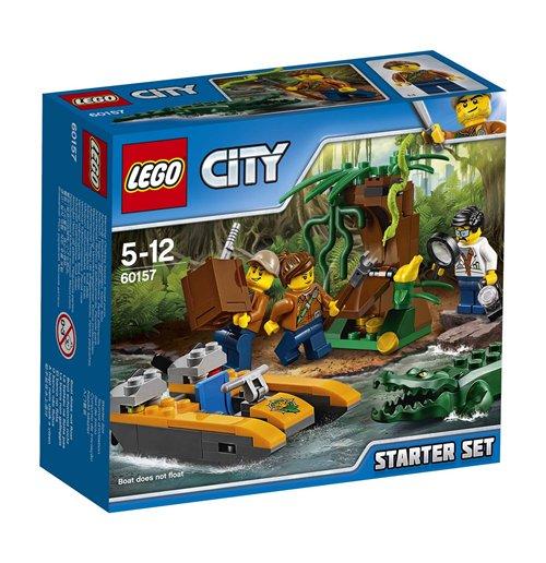 Image of Lego 60157 - City - Starter Set Della Giungla