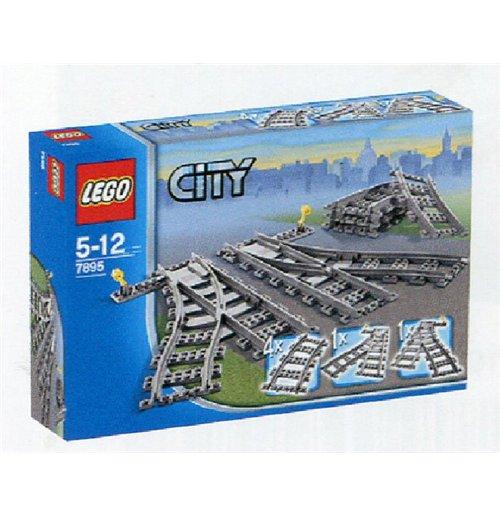 Image of Lego 7895 - City - Scambi Per La Ferrovia