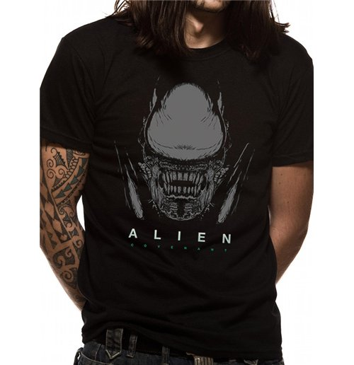Image of Alien Covenant - Xeno And Logo (T-SHIRT Unisex )
