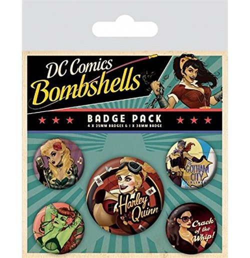 Image of Dc Comics - Bombshells (Badge Pack)