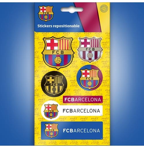 Image of Barcellona mini adesivi loghi grafici