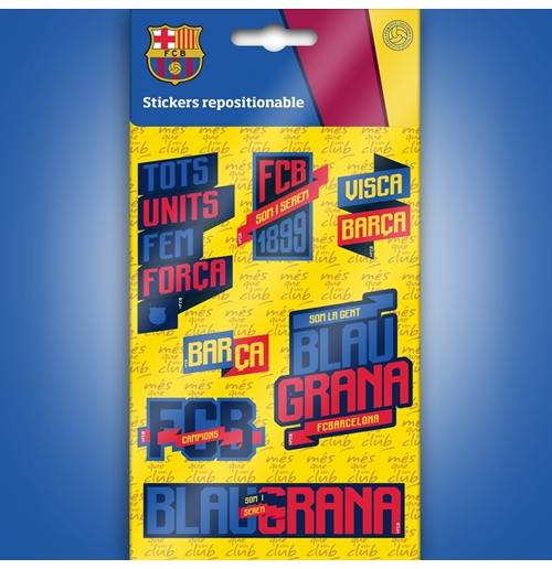Image of Barcelona mini adesivi Grafici