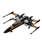star-wars-build-play-modellbausatz-mit-sound-leuchtfunktion-1-78-poe-s-boosted-x-wing-fighter