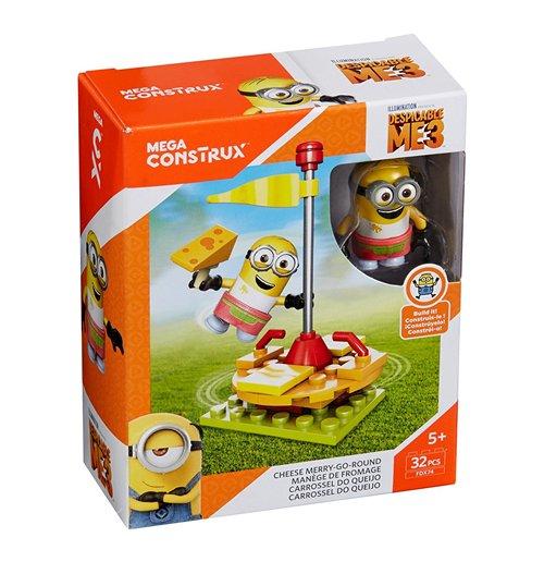 Image of Mega Bloks FDX74 - Cattivissimo Me 3 - Pack Divertimento Cheese Merry Go Round