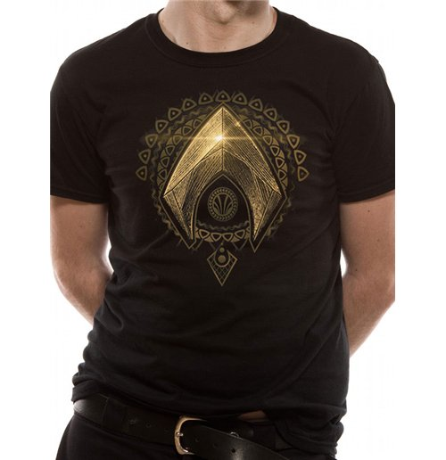 Image of Justice League Movie - Aquaman Symbol (T-SHIRT Unisex )