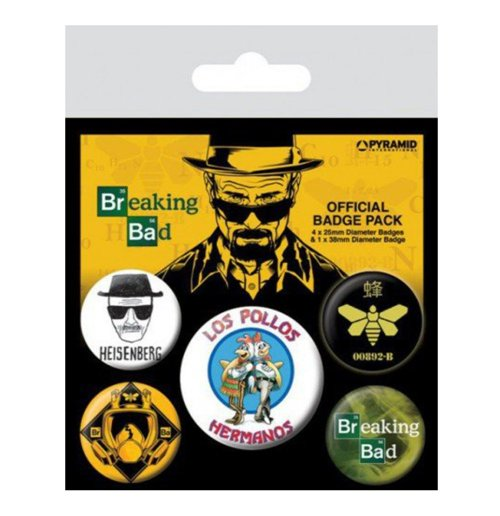 Image of Breaking Bad (Los Pollos Hermanos) (Badge Pack)