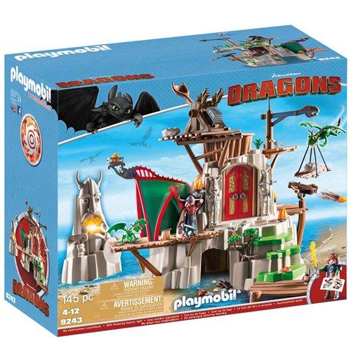 Image of Playmobil 9243 - Dragons - Isola Di Berk