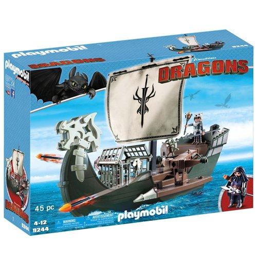 Image of Playmobil 9244 - Dragons - Nave Di Drago