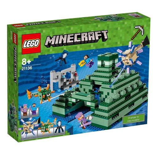 Image of Lego 21136 - Minecraft - Monumento Oceanico