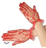 handschuhe-brokat-kurz-rot