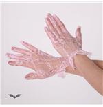 handschuhe-brokat-kurz-rosa
