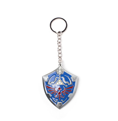 Image of Legend Of Zelda (The) - 3D Shield Metal 3D Multicolor (Portachiavi)