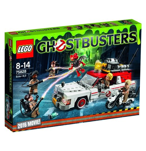 Image of Lego 75828 - Ghostbusters - Ecto-1 & 2