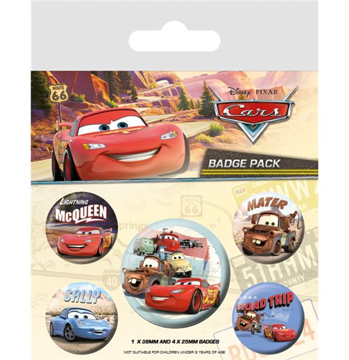 Image of Cars (On The Road) (Badge Pack)