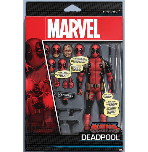 Image of Deadpool - Action Figure (Poster Maxi 61x91,5 Cm)