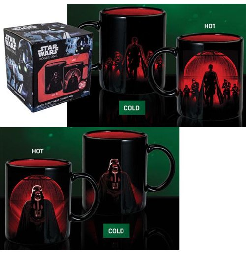 Image of Star Wars - Death Star Heat Change Mug Ep8 (Tazza Termosensibile)