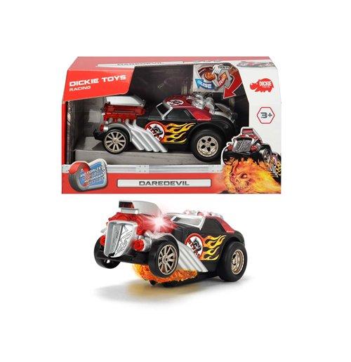 Image of Dickie Toys - Daredevil, Auto Tuning 24 Cm Con Luci E Suoni, Motorizzato, Funzione Impennata