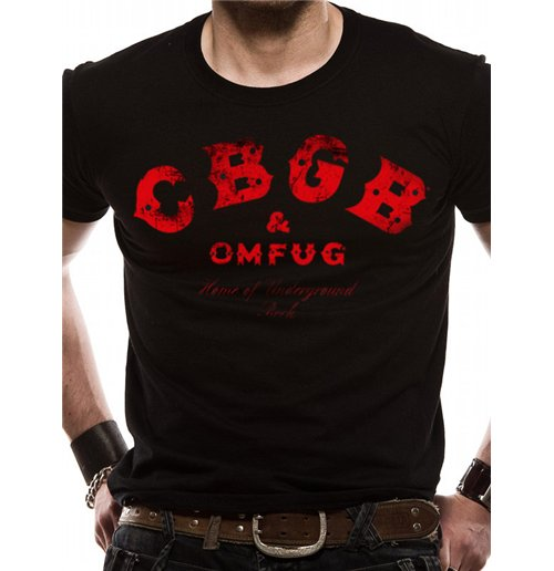 Image of Cbgbs - Red Logo (T-SHIRT Unisex )