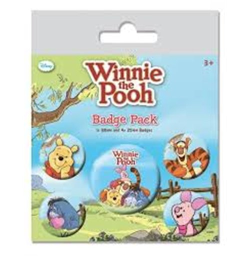 Image of Winnie The Pooh - Characters (Pin Badge Pack)