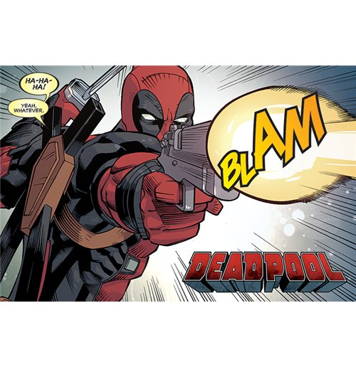 Image of Deadpool - Blam (Poster Maxi 61X91,5 Cm)