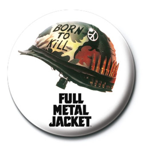 Image of Full Metal Jacket - Helmet (Badge Pack)