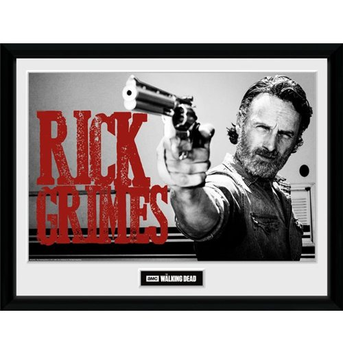 Image of Walking Dead (The) - Rick Grimes (Stampa In Cornice 30x40cm)