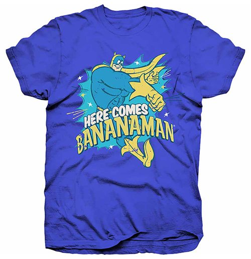 Image of Bananaman - Here Comes Bananaman (T-SHIRT Unisex )