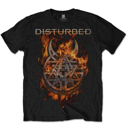 Image of Disturbed - Burning Belief (T-SHIRT Unisex TG. 2)