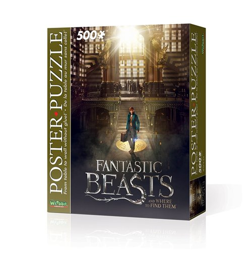 Image of Wrebbit Wpp-5005 - Harry Potter - Fantastic Beasts Macusa (Poster Puzzle 500 Pz)