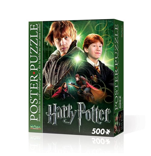 Image of Wrebbit Wpp-5004 - Harry Potter - Ron Weasley (Poster Puzzle 500 Pz)