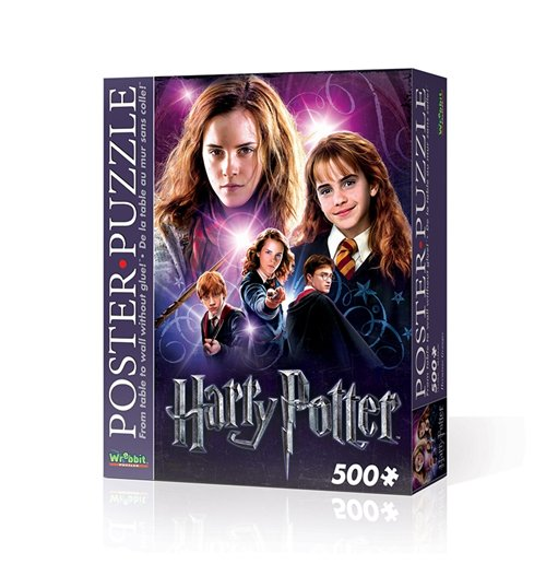 Image of Wrebbit Wpp-5003 - Harry Potter - Hermione Granger (Poster Puzzle 500 Pz)