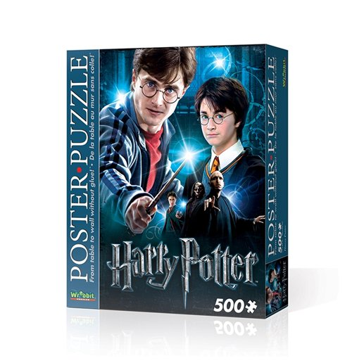 Image of Wrebbit Wpp-5002 - Harry Potter - Harry Potter (Poster Puzzle 500 Pz)