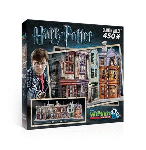 Image of Wrebbit W3D-1010 - Harry Potter - Diagon Alley (Poster 3D 450 Pz)