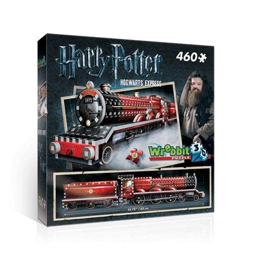 Image of Wrebbit W3D-1009 - Harry Potter - Hogwarts Express (Poster 3D 460 Pz)