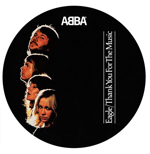 "Image of Vinile Abba - Eagle/Thank For The Music (7"") (Picture Disc)"