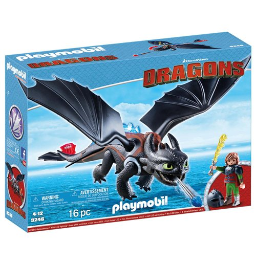 Image of Playmobil 9246 - Dragons - Hiccup E Sdentato